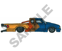 PRO STOCK TRUCK embroidery design