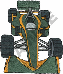 RACE CAR  2 embroidery design