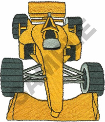 RACE CAR  4 embroidery design