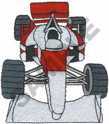 RACE CAR  5 embroidery design