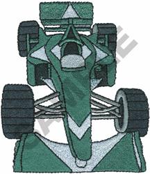 RACE CAR  8 embroidery design