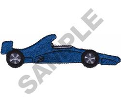 RACE CAR  12 embroidery design