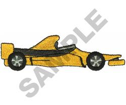 RACE CAR  14 embroidery design