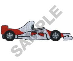 RACE CAR  15 embroidery design