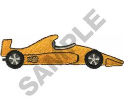 RACE CAR  17 embroidery design