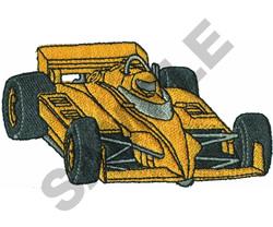 RACE CAR  20 embroidery design