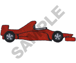 RACE CAR  21 embroidery design