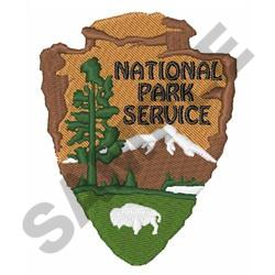 NATIONAL PARK SERVICE embroidery design