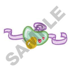 BABY PACIFIER embroidery design
