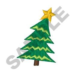 CHRISTMAS TREE MINI embroidery design