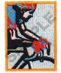 BICYCLE RACER embroidery design