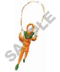JUMP ROPE embroidery design