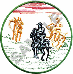 POLO MATCH embroidery design