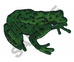 FROG embroidery design