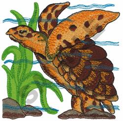 HAWKSKILL TURTLE embroidery design
