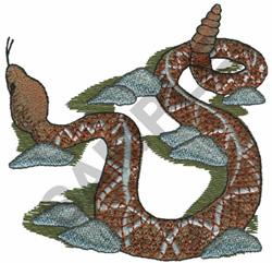 RATTLESNAKE embroidery design