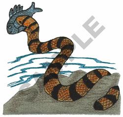SEA SNAKE embroidery design