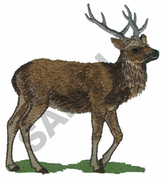 SIKA DEER embroidery design