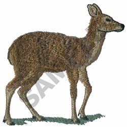 MUSK DEER embroidery design