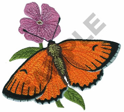 LYCAENA PHLAES embroidery design