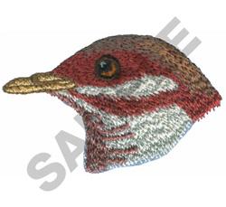 BIRD HEAD embroidery design