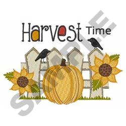 HARVEST TIME embroidery design