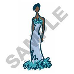 FASHION MODEL embroidery design