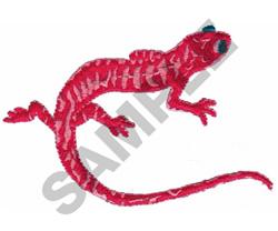 REPTILE embroidery design