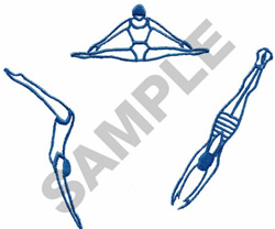 DIVERS embroidery design