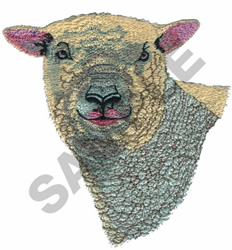 SOUTHLOWN SHEEP embroidery design