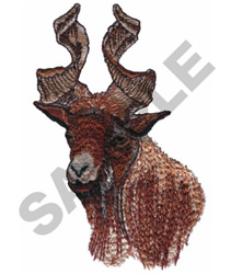 GIRGENTANA GOAT embroidery design