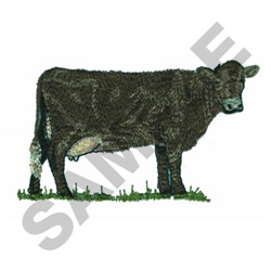 CANOWLIENNE COW embroidery design