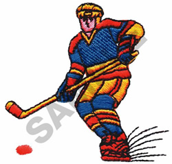 ICE HOCKEY embroidery design