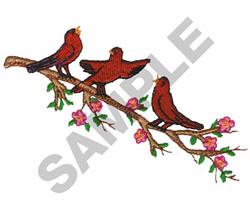 BIRDS embroidery design