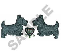 DOGS embroidery design