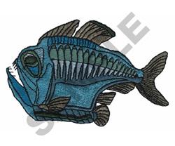 PIRANHA embroidery design