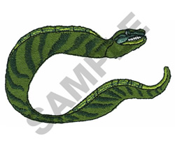 ELECTRIC EEL embroidery design