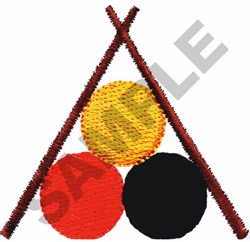 SNOOKER embroidery design