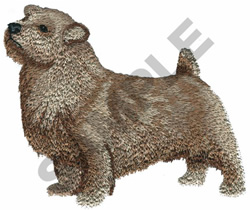NORFOLK TERRIER embroidery design