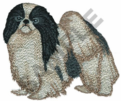 JAPANESE CHIN embroidery design