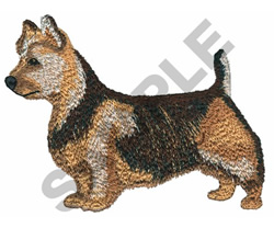 AUSTRALIAN TERRIER embroidery design