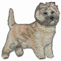 CARIN TERRIER embroidery design