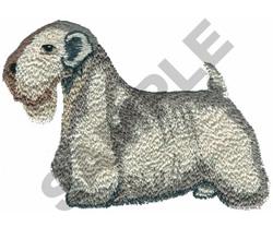 SEALYHAM TERRIER embroidery design