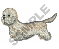 DANDIE DINMONT TERRIER embroidery design