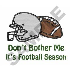 ITS FOOTBALL SEASON embroidery design