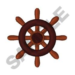 SMALL SHIPS WHEEEL embroidery design