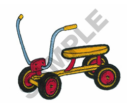 TODDLER SCOOTER embroidery design