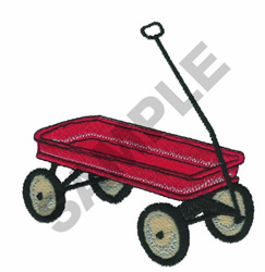 RADIO FLYER embroidery design