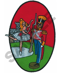 TIN SOLDIER embroidery design