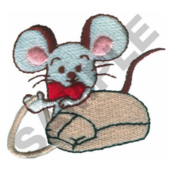 MOUSE WITH MOUSE embroidery design